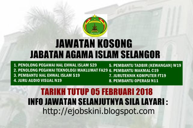 Jawatan Kosong Jais Shah Alam Tautan X