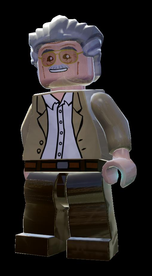 Lego marvel superheroes stan lee
