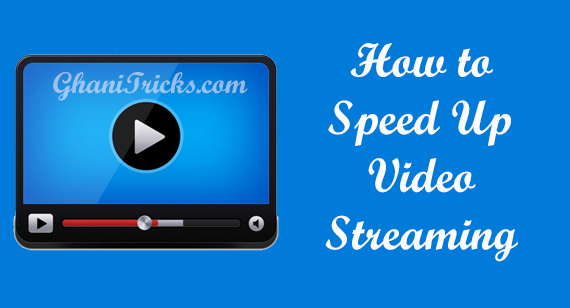 How to Speed Up Video Streaming - 100PakWeb