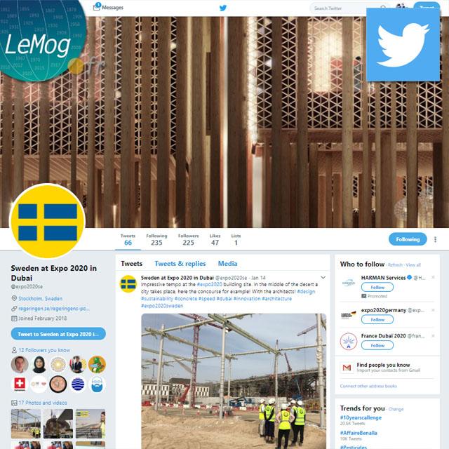 Sweden pavilion Expo 2020 Dubai - UAE