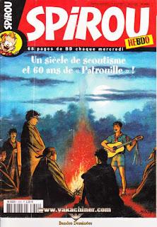 Spirou Hebdo, un siècle de scoutisme, numéro 3602, année 2007