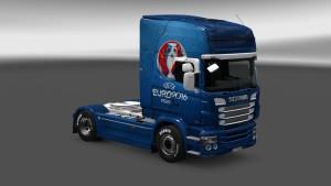 Euro 2016 Scania RJL Skin