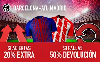 sportium promocion Barcelona vs Atletico 4 marzo