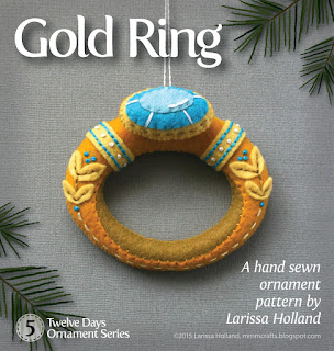Gold ring pattern