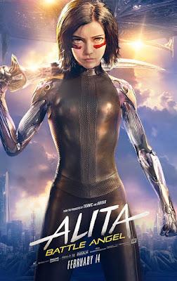 Alita Battle Angel Rosa Salazar Movie Poster 2