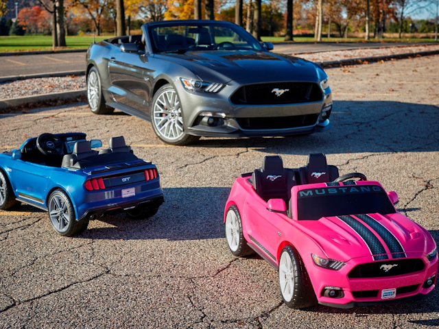 Coming to Stores this December - Fisher Price Power Wheels Smart Drive Mustang