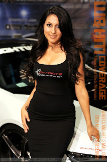 W&HM Feature Model Crystal Mendez for Chariotz at SEMA 2015