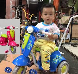 Sepeda Anak Roda 3 Vespa