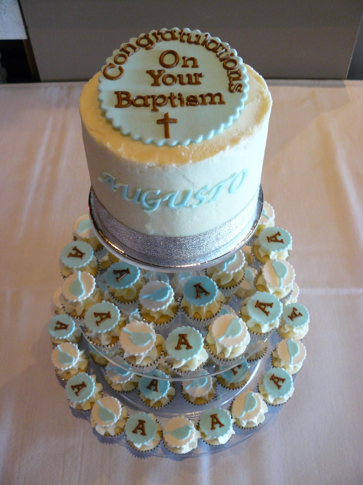 Happy Baptism Cakes
