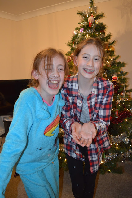 Steph's Two Girls at Christmas
