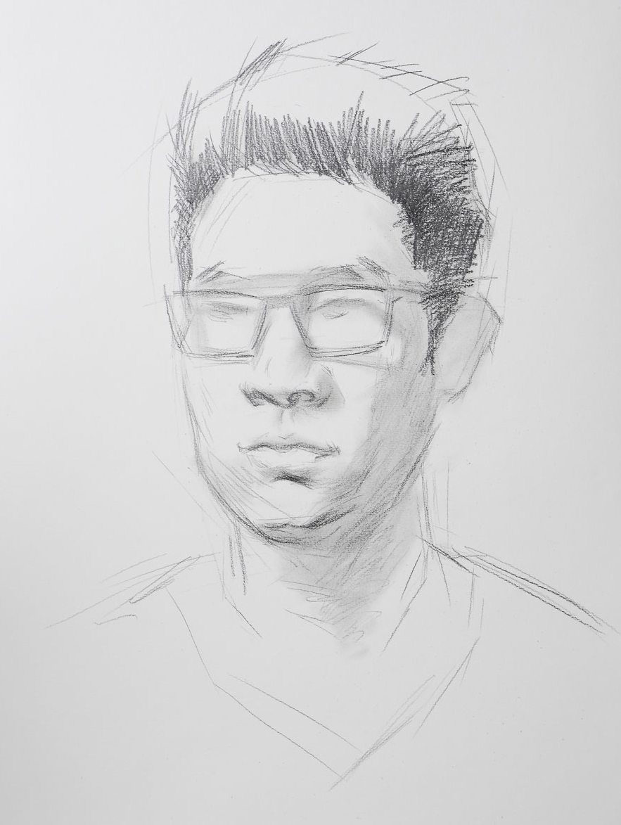 Portrait Drawing whith Pencil Step by Step - How To Draw ...