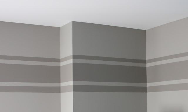 The Yellow Cape Cod Tone On Tone Wall Stripe Tutorial