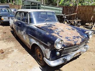 Jual Bahan Sedan Klasik Opel Rekord 1961 Stir Kiri Surat Komplit