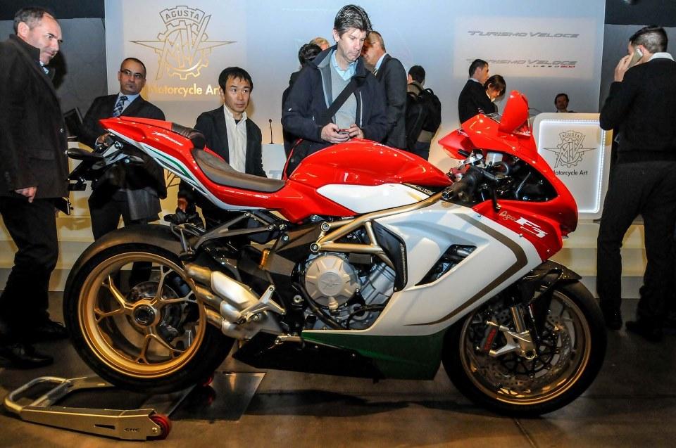 MV Agusta akan mulai merakit secara lokal beberapa motornya di India . . dimulai dari F3 800