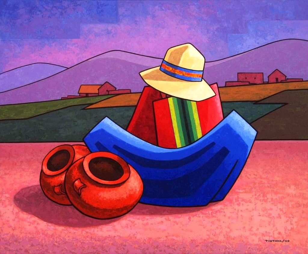 Pinturas de OSCAR TINTAYA