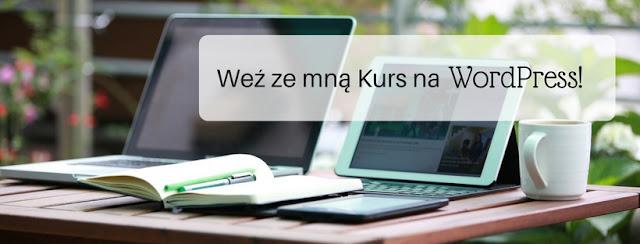 """Kurs """"WordPress w 10 krokach"""" Kasia Aleszczyk"""