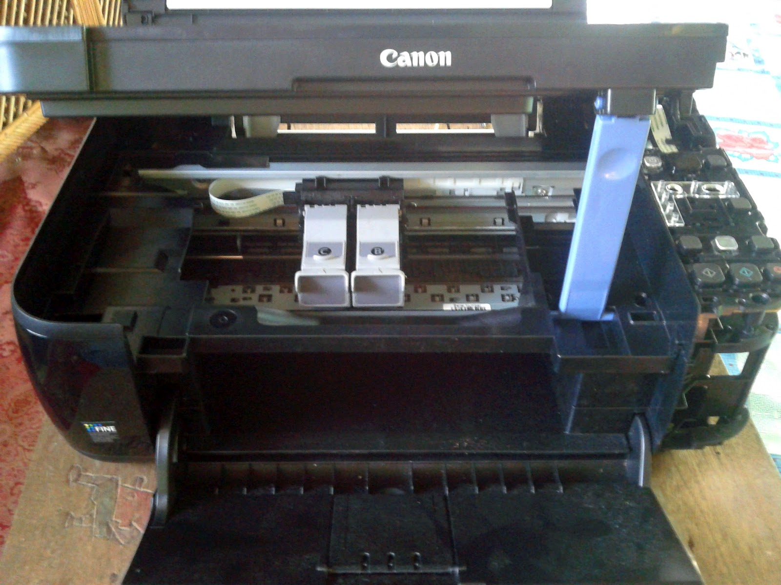 Pasang Infus Printer Pasang Infus Printer Canon Mp 287