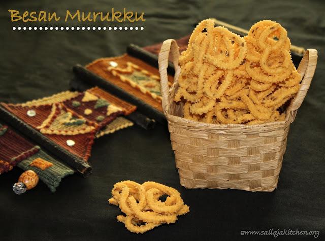 images of Kadalai Maavu Murukku / Besan Flour Chakli / Besan Murukku / Kadalai Maavu Arisi Murukku