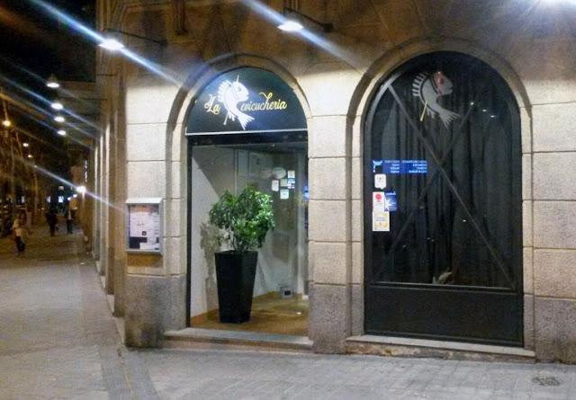 Fachada de La Cevicuchería, Tusolovive Madrid