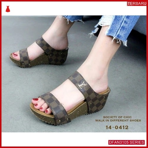 DFAN3105S147 Sepatu Asp 01 Wedges Wanita Wedges Murah BMGShop
