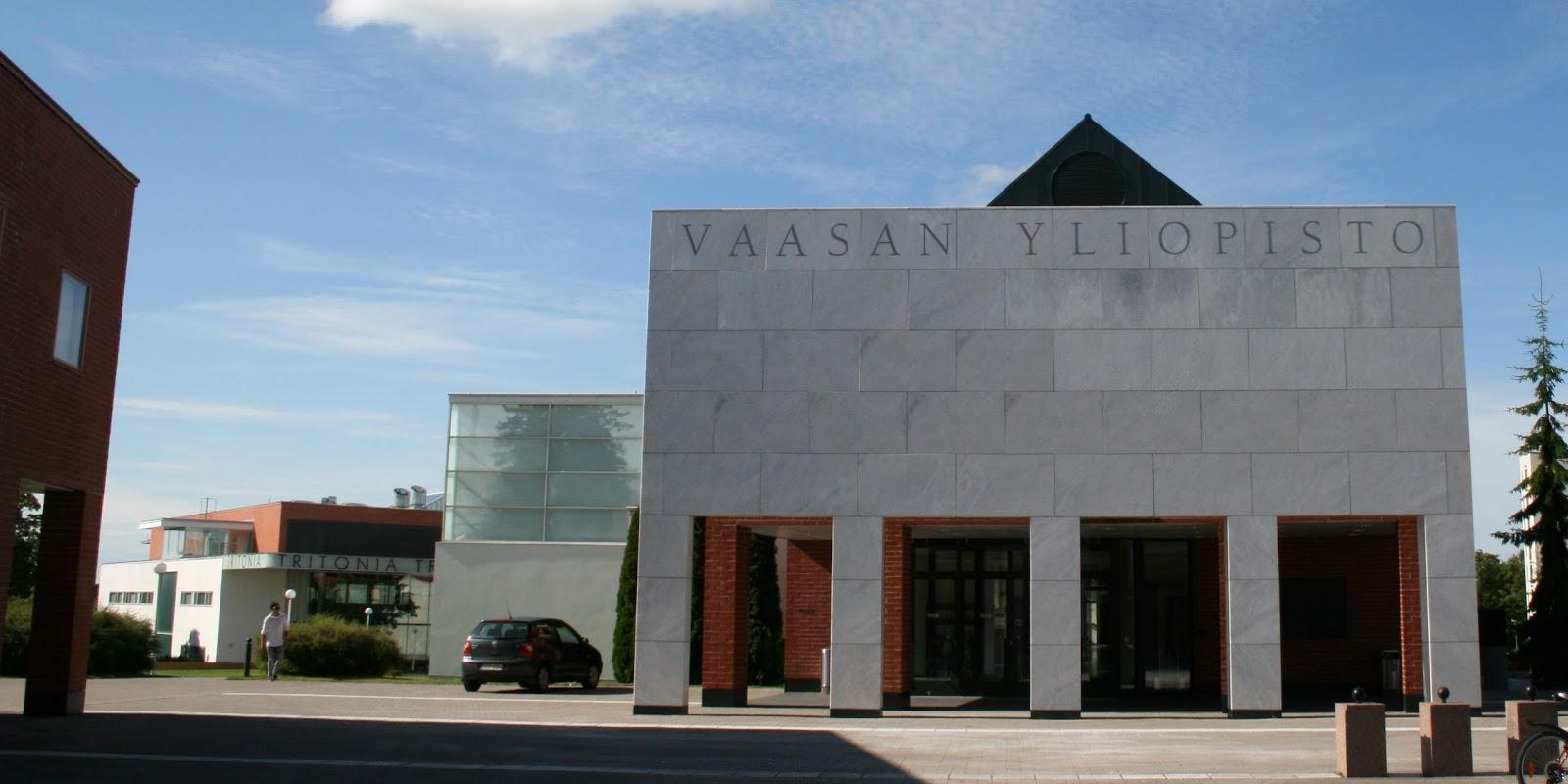 VAASA ennen ja nyt Vasa förr och nu Vaasan yliopiston kampus