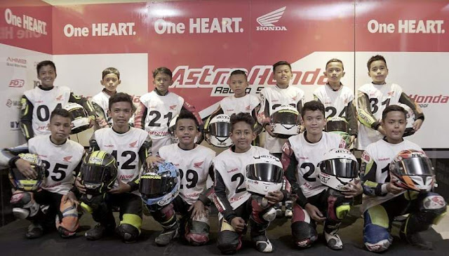Rider Astra Honda Racing School 2019
