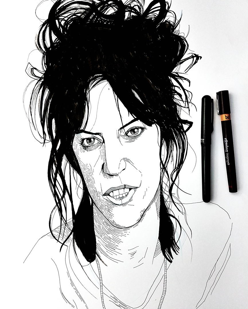 Patti Smith illustration
