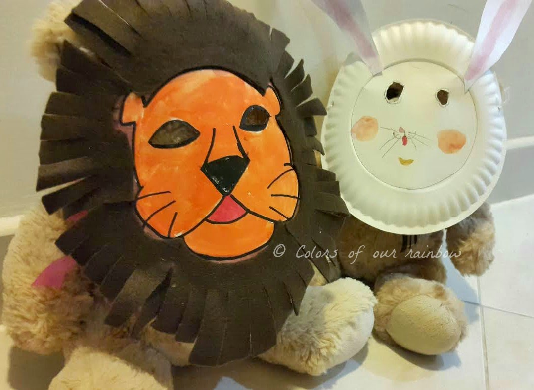 Animal mask -colorsofourrainbow.blogspot.ae