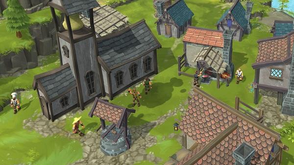 Townsmen Features
