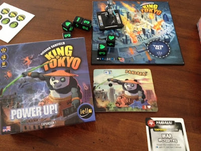 King of Tokyo Power Up Board game expansion