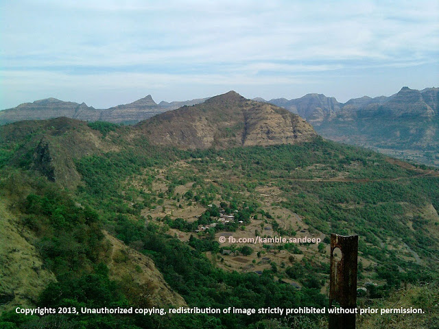 Surrounding of The Raigad Fort