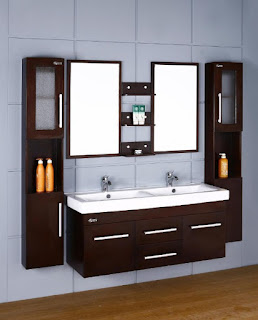 bathroom vanities with matching wall cabinets