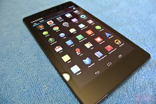 Một số lỗi cần thay màn hình Google Nexus 7