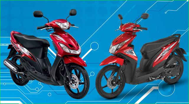 Kenapa rem depan motor berbeda posisinya,rem cakram kiri atau kanan,
