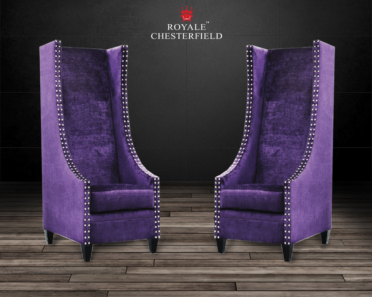 Custom Extra Tall High Back Chair