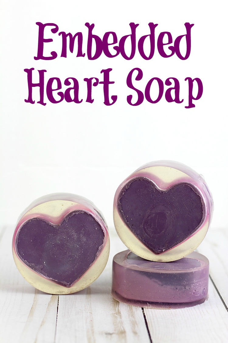 embedded melt and pour soap recipe