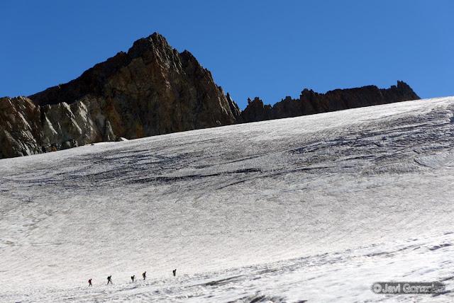Glaciar de la Girose, PN Ecrins, Francia, La Grave