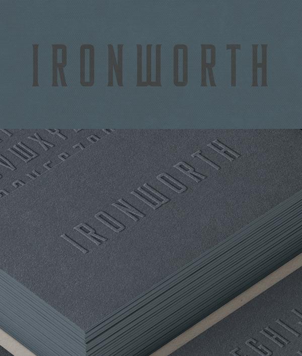 Download Font Terbaru 2018 - Ironworth Free Font