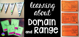 domain and range activities