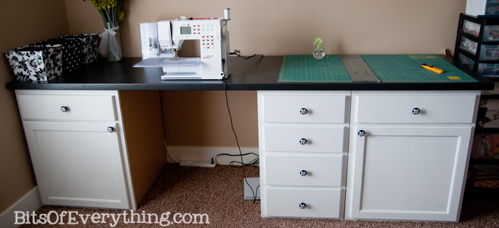 My Craft Room Desk Bits Of Everything