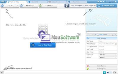 cara convert file audio atau video ke format lainnya dengan mudah dengan menggunakan software any video converter