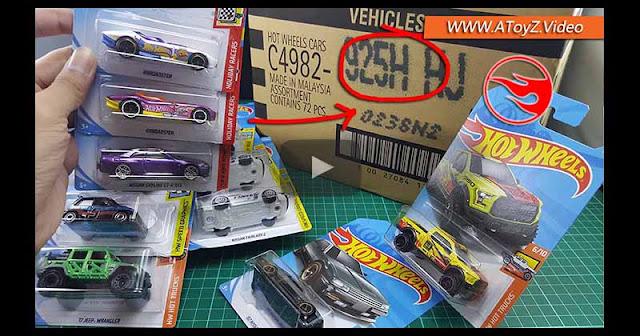 Hot Wheels LOT H / BOX H 2018 Unboxing