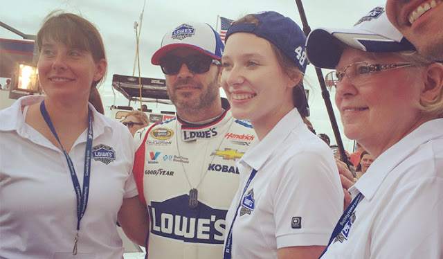 Jimmie Johnson Memorial Day