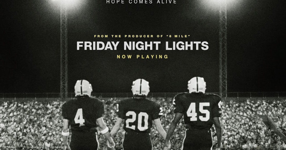 Main Characters In Friday Night Lights Book