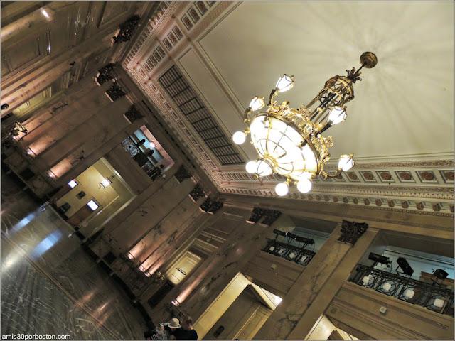 Vestíbulo del Ayuntamiento de Montreal