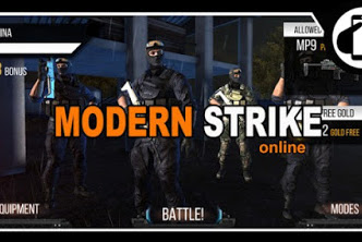 Modern Strike Online Mod Apk Data for Android