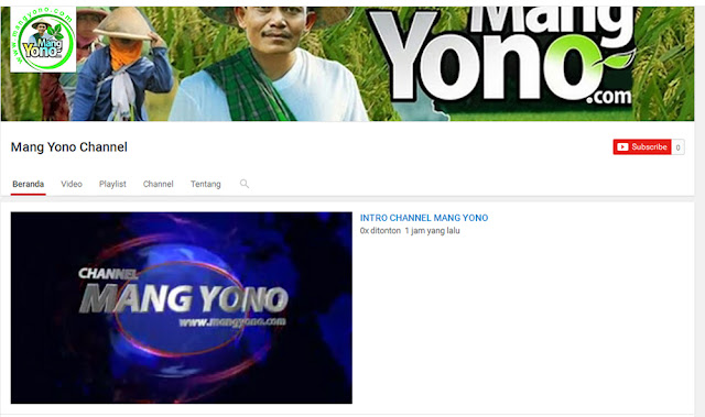 Chanel Youtub Mang Yono