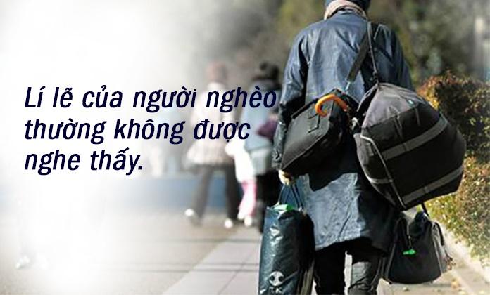 Bạn đang nghèo khó và bạn đã biết được những gì?