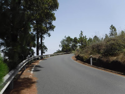 Strada per Firgas