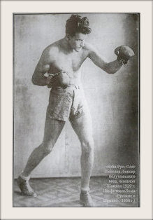 Oleg Voldemar Shevelev aka Oleg Sheveloff aka Олега Шевелева, Baby Russ (Беби Рус), a Russian light-heavyweight boxing champion.